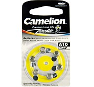 Camelion 1.4V A10 Zinc Air Button Battery (6pcs)