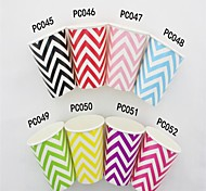 Hot Sale 9OZ Chevron Paper Cups Halloween Party Cups (12 pcs)