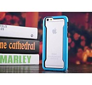 HHMM® Solid Color A Border PC Hard Case for iPhone 6 Case(Assorted Colors)