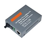 HHX HTB-3100 25KM Single Model Single Fiber Fiber Optical Transceiver