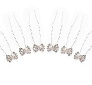 strass splendida / perle imitazione nozze sposa pin / fiori 6 pezzi