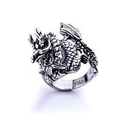 regalo personalizzato gioielli in acciaio inox moda incisa anello maschile