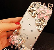 элегантный украшен камелии алмаза на мобильный 6 (разных цветов)