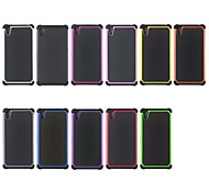 Football Pattern Dual-Color 2 in 1 Detachable PC+TPU Hybrid Case for Sony Xperia Z2 (Assorted Colors)