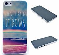 Regenbogen von Meer Muster harter Fall für iphone 6 Plus