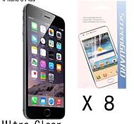 [8-pack] hochwertigen Anti-Fingerprint Schutzfolie für iPhone 6 Plus