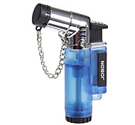 Jobon Long Hand Held Type Cigar Style Gas Lighter with Keychain