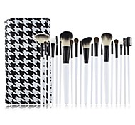 20 Makeup Brushes Set Goat Hair / Pony / Synthetic Hair / Nylon / Others / Horse Limits bacteria Face / Lip / Eye MAKE-UP FOR YOU