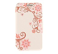 Kinston Balance of Flowers Diamond Paste Pattern PU Leather Full Body Case with Stand for iPhone 6 Plus