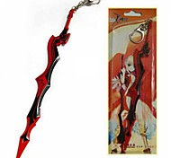 Fate Aestus Estus Red Sword Key Chain Cosplay Accessories