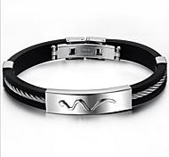 Z&X®  Man's Fashion Joker Personality Snake Pattern Bracelets