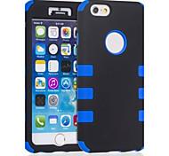sechs Punkte Muster Silikonhülle für das iPhone 6 plus (verschiedene Farben)