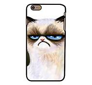 unglücklich Katze Stil Kunststoff Hard Cover für iPhone 6 Plus