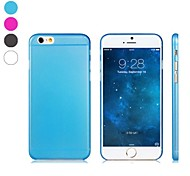 Ultra-thin Scrub Design PC Hard Case for iPhone 6 (Assorted Colors)
