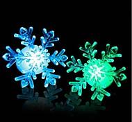Acrylic Christmas Light Snow LED Nightlight