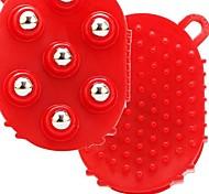 портативный выскабливание лимфатические массажер / шар массаж перчатки основные и побочные каналы щетка массажер