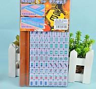 Mini Plastic Portable Travel Mahjong