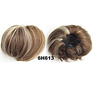 Pleasant Clip In Hair Wrap Synthetic Hair Pieces