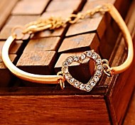 Love Is You Fashion Simple Generous Love Diamond-encrusted Bracelet Bracelet -SL2