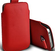 premium delgado pu cuero suave lengüeta cubierta de la caja de la bolsa para la galaxia Nota4