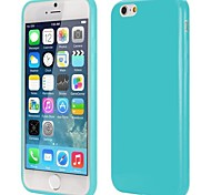 Slim Smooth Flexible Precise Cutouts Solid Color TPU Case for iPhone 6(Assorted Colors)