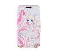 Kinston Gift Girl Pattern PU Leather Full Body Cover with Stand for iPhone 6