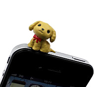 Poodle Dog Shaped 3.5mm Earphone Jack Anti-dust Plug for iPhone , iPad , Samsung & Others Smart Phone