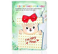 The Gift Box Bear Pattern Leather Full Body Case with Stand for Apple iPad Air