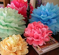 20 inch Paper Flower Party Decorations - Set of 4 (More Colors)