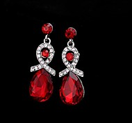 European Fashion  Gem Drop Earrings Hot Sale