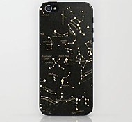 Connection Stars Pattern Hard Case for iPhone 5/5S