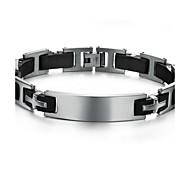 Z&X®  Men's Fashion Personality Trend Bracelet Silicone Titanium Bracelets