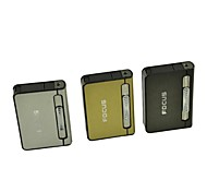 Automatic Ejection Butane Lighter Cigarette Case(Random Color)