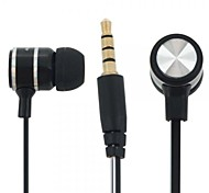 Headphone 3.5mm In Ear Hi-Fi Fashion Wired Stereo Music with Microphone for Phones/PC