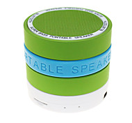 Hi-Fi S09 funzione MP3 Mini Speaker Bluetooth con TF porta per il telefono / computer portatile Tablet PC / (colori assortiti)