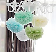1 PCS 8'' Tissue Paper Pom Poms DIY Kits Decorative Flower Balls for Holiday Baby Shower Birthday Wedding Party