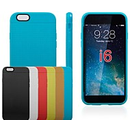 Honeycomb Shape TPU Soft Case for iPhone6 (Assorted Colors)