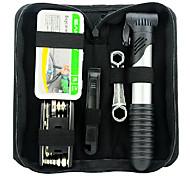 SAHOO Multi-Functional Bike Repair Tool Kit Including Tire Repair Kit and Pump