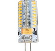 Capsule alogene/Lampadine a pannocchia 72 SMD 3014 G4 4 W 360 LM Bianco caldo/Luce fredda DC 12/DC 24/AC 12/AC 24 V