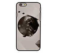 Earth and Space Style Plastic Hard Back Cover for iPhone 6