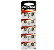 Camelion 1.5V AG12 Alkaline Button Battery (10pcs)