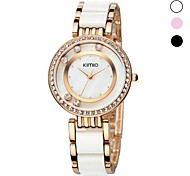 Women's Fashion Alloy Analog Quartz Wrist Watch Assorted Colors