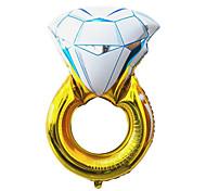 43 pollici day party palloncino San Valentino di nozze membrana di alluminio anello di diamanti