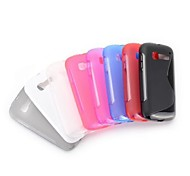 S Shape Design Soft Gel TPU Case for Alcatel One Touch Pop C5 OT-5036A OT-5036D OT-5037A OT-5037X(Assorted Color)