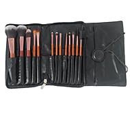 13pcs de alta qualidade escova de maquiagem conjunto com o saco