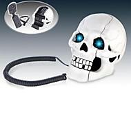 Glowing Eyes Skulls Telephone Set Novelty Toys