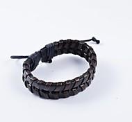PU bracelets en cuir de la mode des hommes