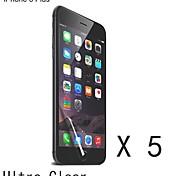 Qualitätsraum-Schirmschutz für iphone 6s / 6 plus (5 Stück)