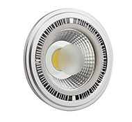10W GU10 LED Spotlight AR111 1 COB 1000-1100LM lm Cool White AC 85-265 V