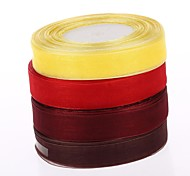 2 Cm of Snow Yarn Ribbon With DIY Materials Gift Box Parts
